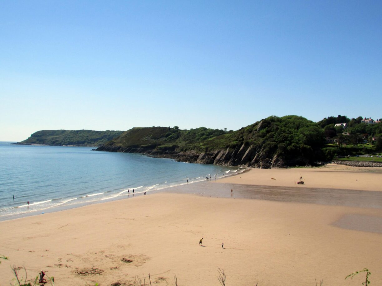 Caswell Bay credit Reading Tom via Flickr