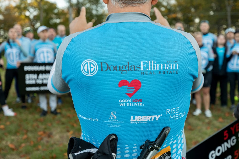 Douglas Elliman On Track to Raise $1,000,000 for God's Love We Deliver with Seventh Annual Ride for Love