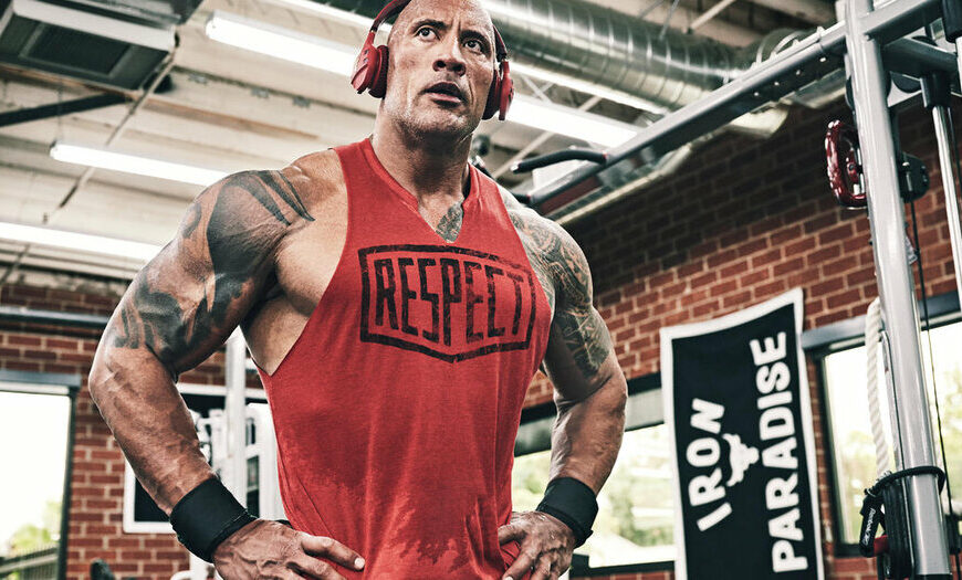 Dwayne Johnson Challenges You To Push Past Your Limits