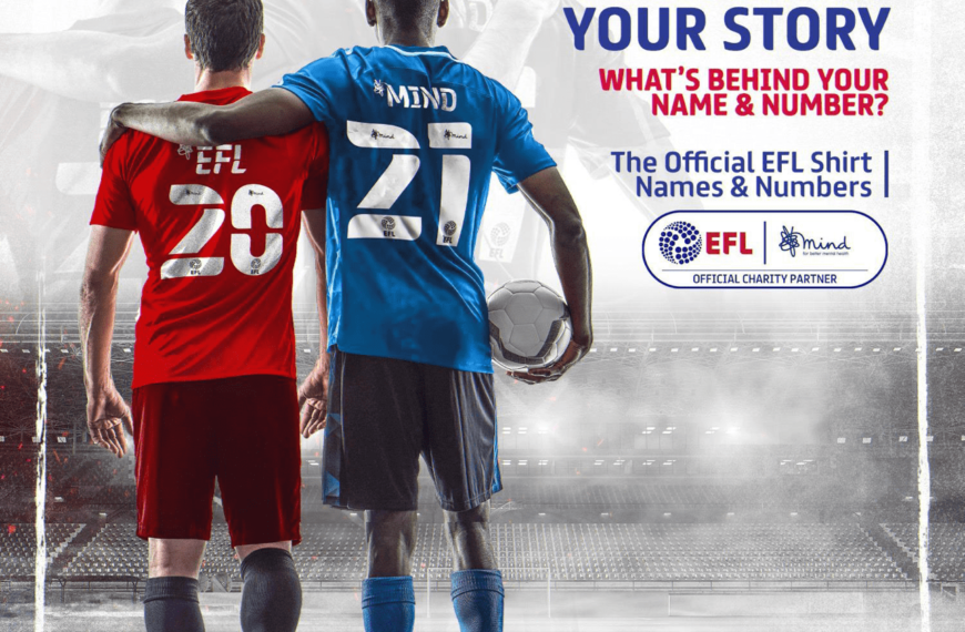 EFL And MIND Reveal New Names And Numbers Design For 2020/21 Season