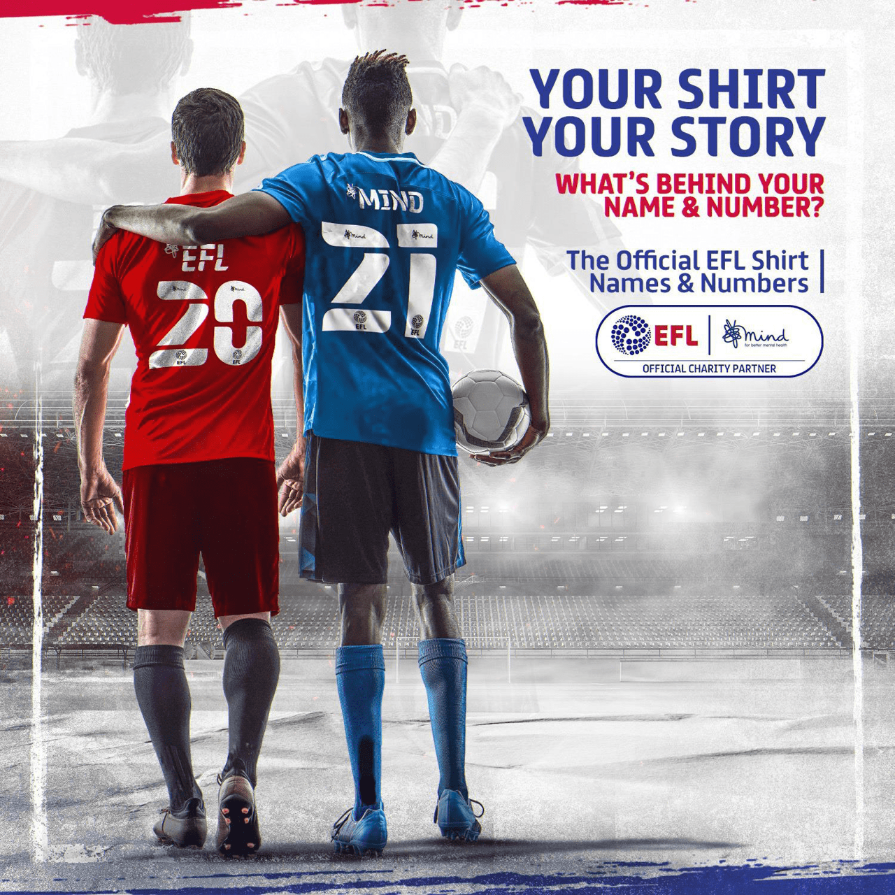 EFL and MIND Celebrate Two Seasons Of 'on Your Side' Partnership