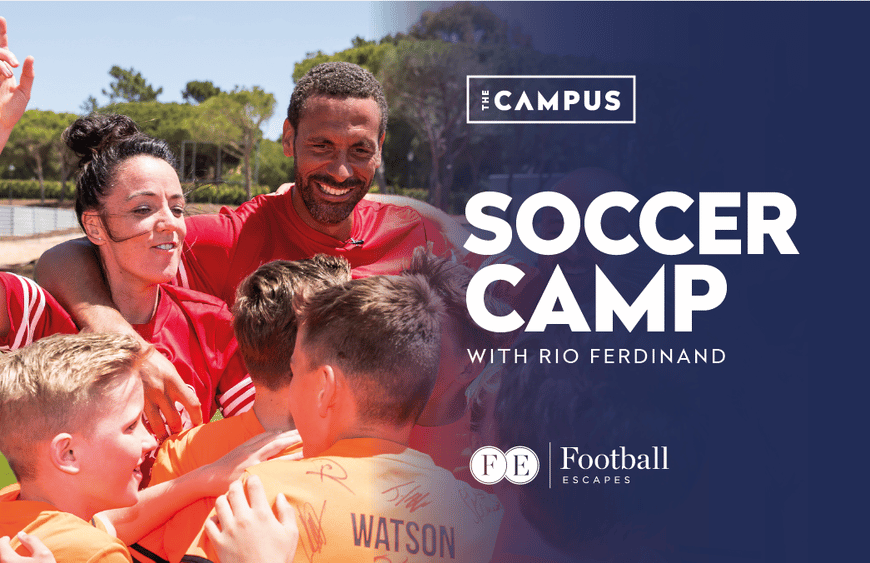 England, Manchester United and West Ham United Legend Rio Ferdinand, to Host Junior Summer Football Camps in Portugal