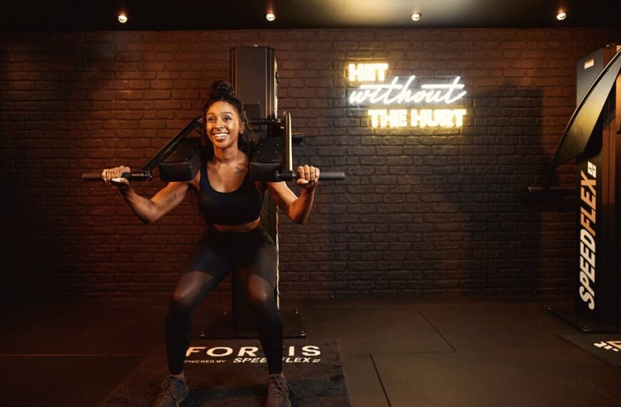 New Fitness Concept Supported by Singer and Actress Alexandra Burke