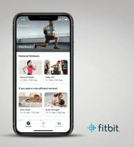 Fitbit Premium iOS Workouts