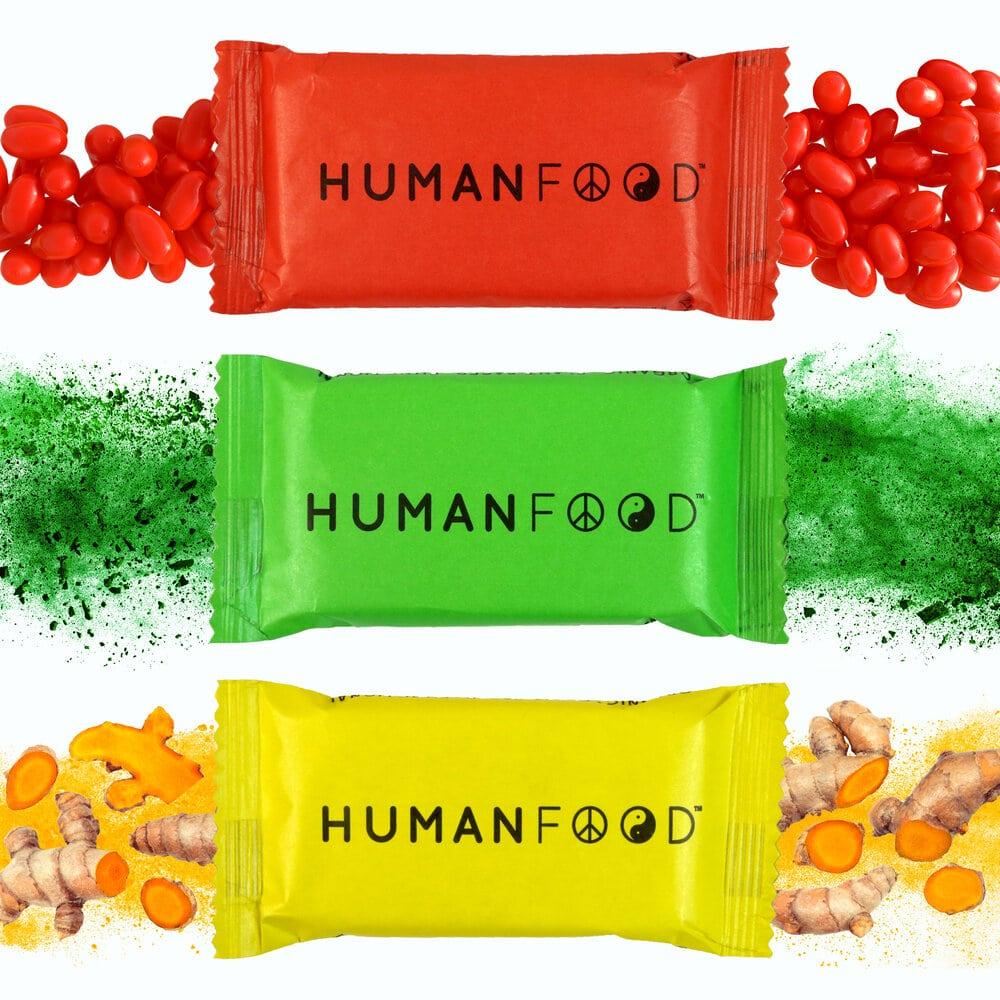 HumanFood 10025OrganicDailyNutritionBars