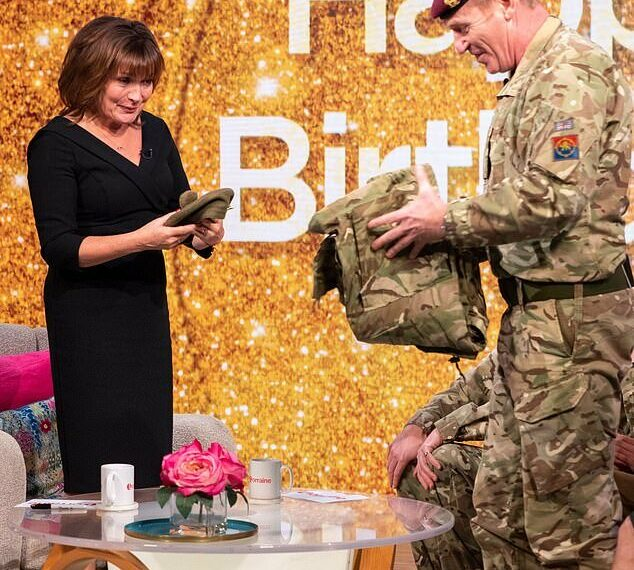 Lorraine Kelly announced as the National Honorary Colonel of the Army Cadet Force