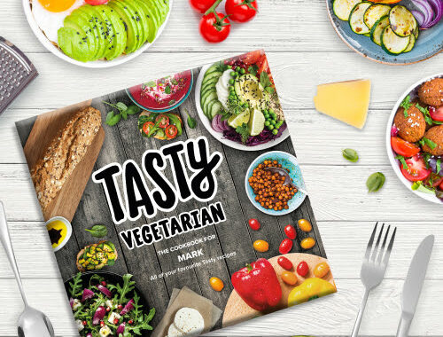 My Tasty Cookbook the World's Only Fully Customisable Cookbook