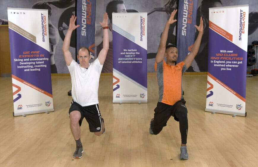Britain's Number One Skier Unveils New Ski Fitness Video Series