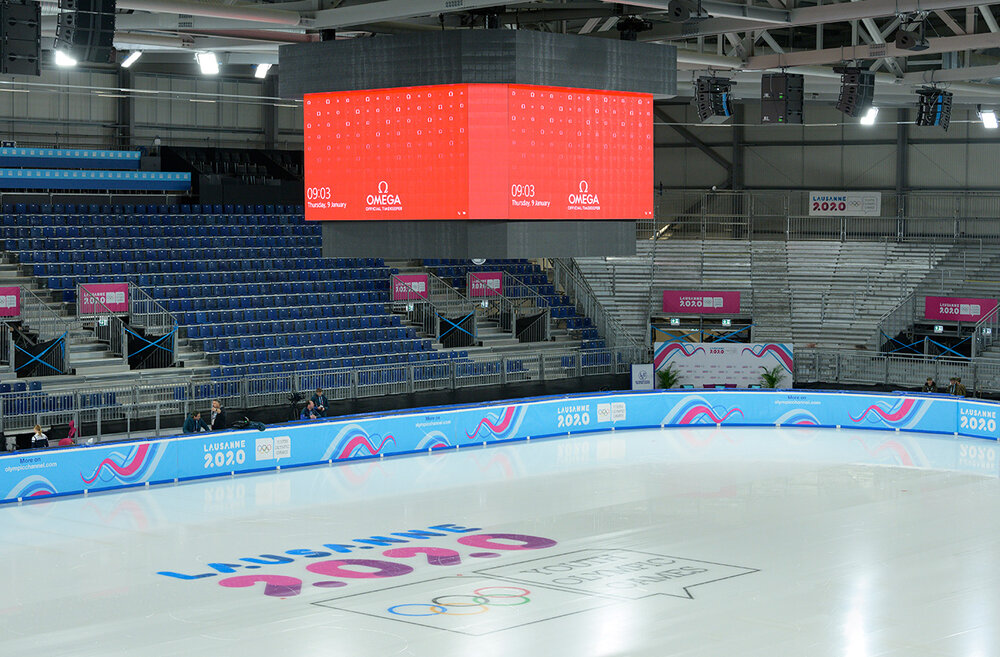 OMEGA Ready to Time The Winter Youth Olympic Games Lausanne 2020