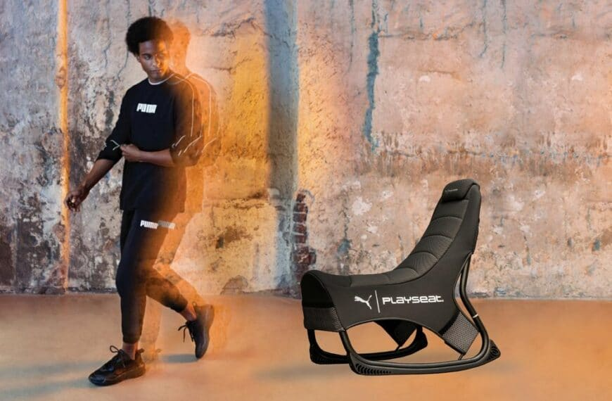 PUMA and gaming gear company PLAYSEAT have developed revolutionary seating for active gamers