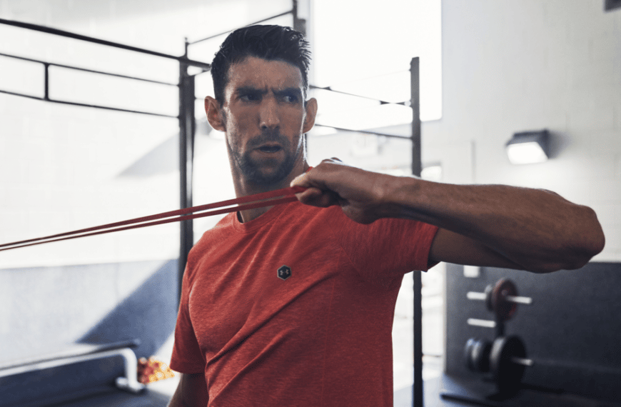 Michael Phelps Tells Us How He Made His Way Through