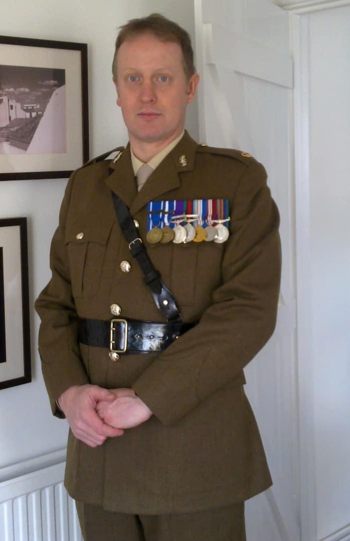 Rob Shenton uniform