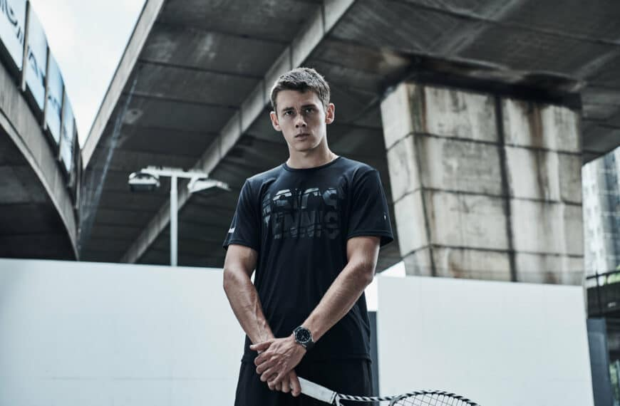 Tag Heuer Highlights Support Of Young Tennis Talents