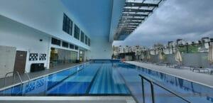 Swimmingpool newshoot