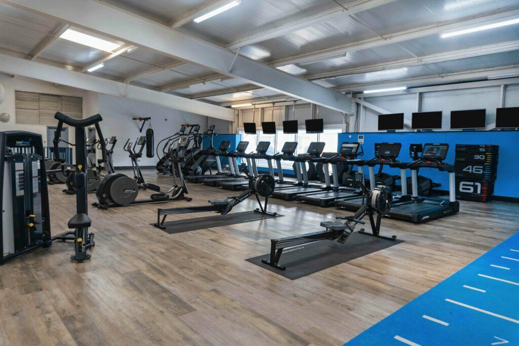 Total Fitness equipment