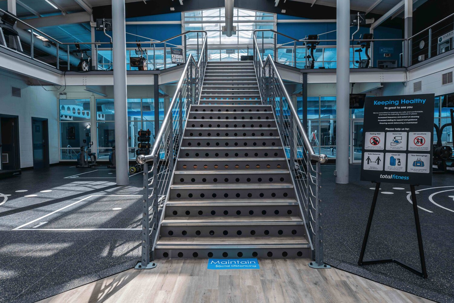 What Will Gyms Look Like When They Reopen?