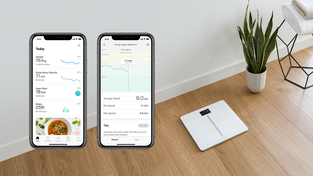 Withings Reintroduces Pulse Wave Velocity Measurement On Body Cardio Scales