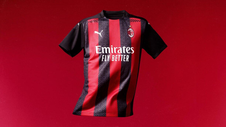 ac milan 2020:21 home kit5