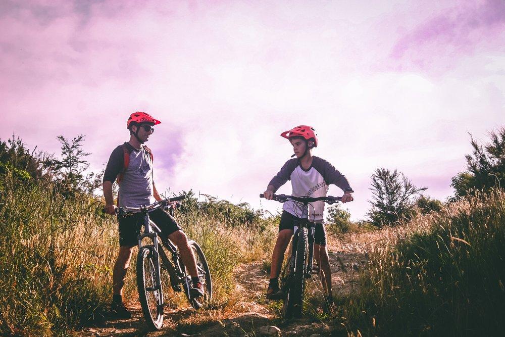 adult adventure biker 1010557