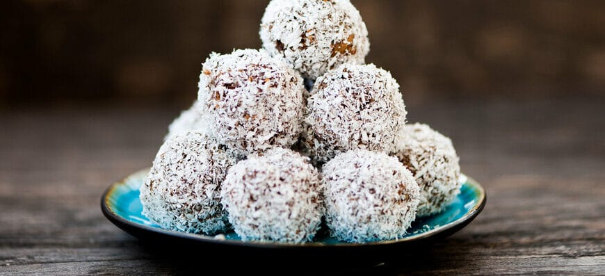 Power Packed Almond Protein Balls Recipe