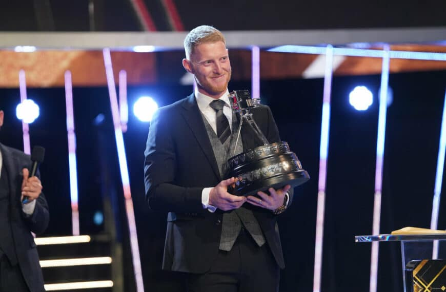 Ben Stokes Wins BBC Sports Personality Of The Year 2019