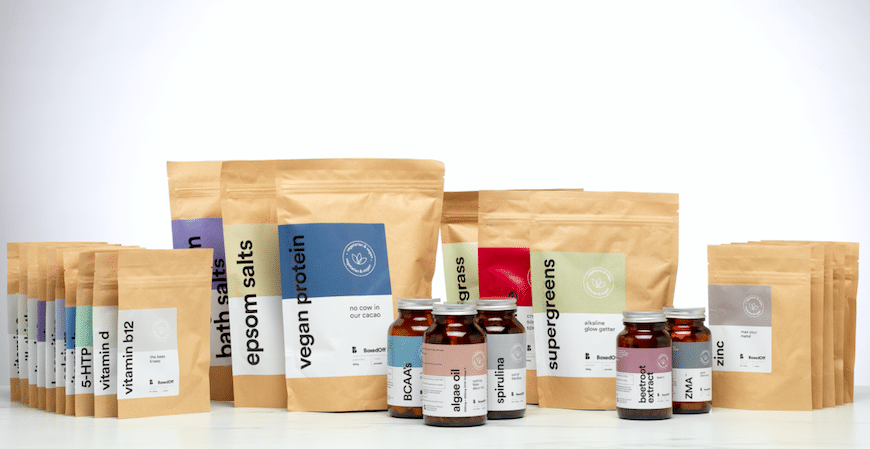 'Boxed Off' Houses All The Supplements You Need In Simple Problem-solving Boxes