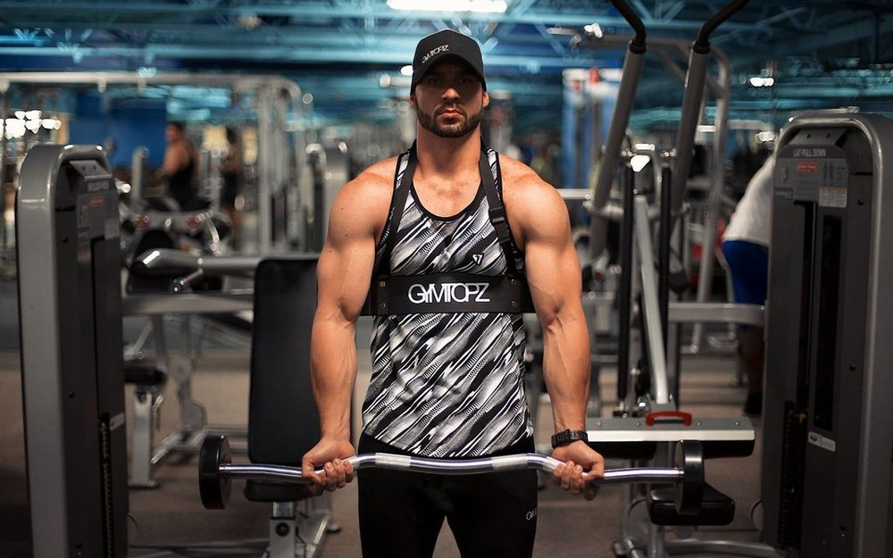 Build Huge Biceps Fast With The Gymtopz Arm Blaster