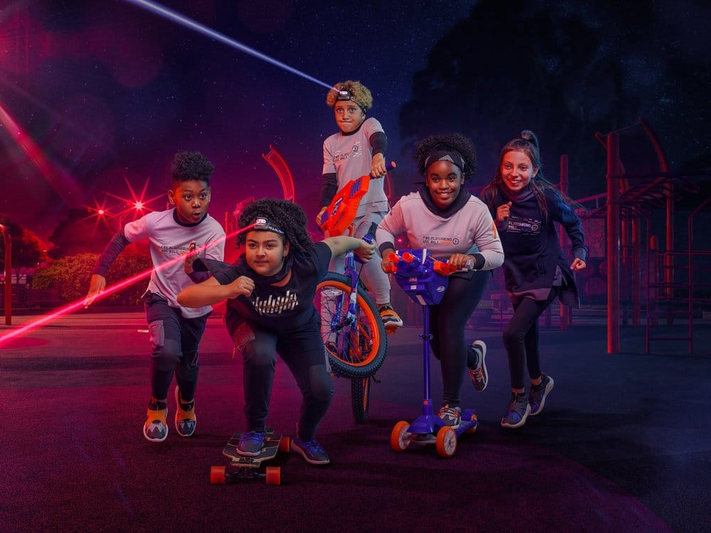 Hasbro And Super Heroic Team Up To Promote Active Play With New NERF Apparel And Footwear Line