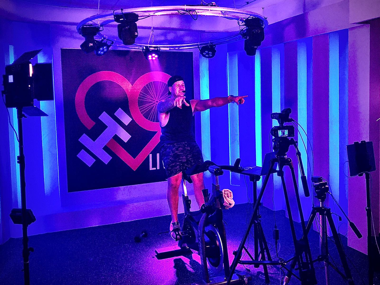 HubLive and LuvCycle Open its Own Film Studio!