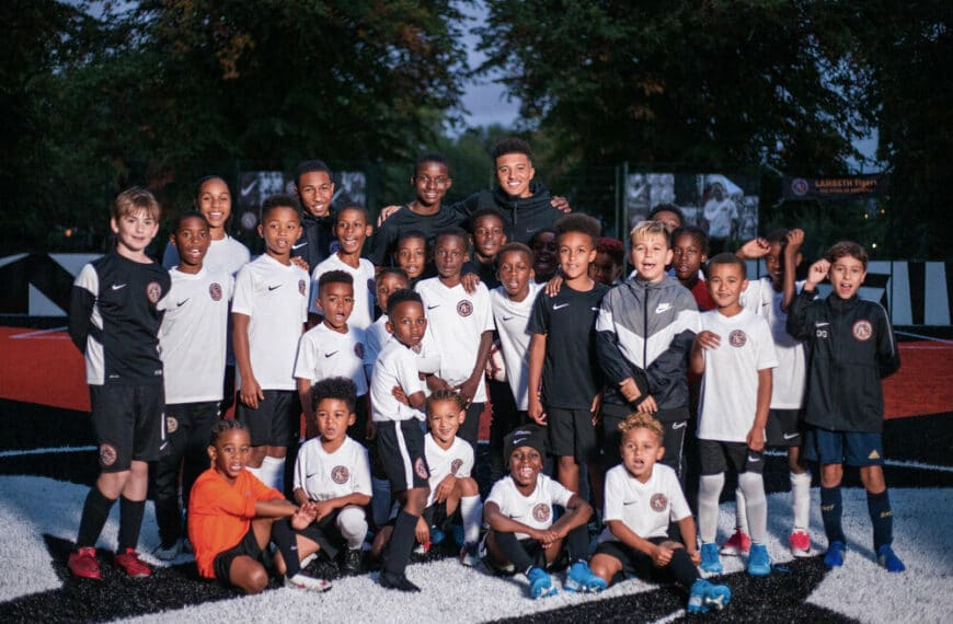 Jadon Sancho Brings New Pitch to South London's Rising Young Footballers