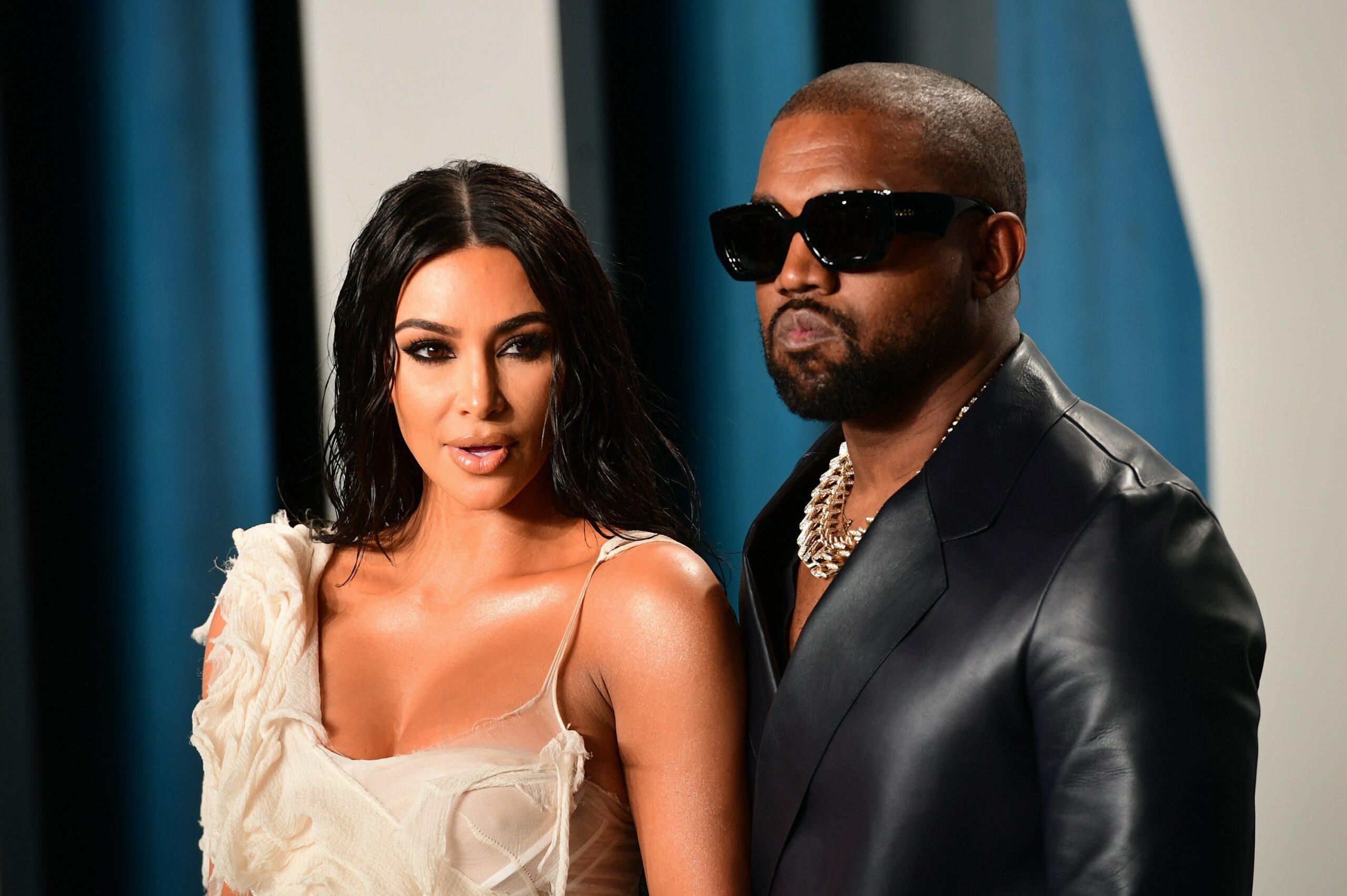 kanye west with kim kardashian talk about mental health
