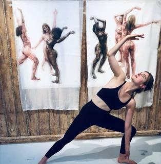 Yoga Meets Art at Noho Studios