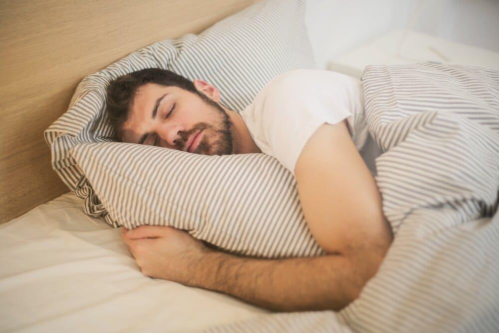 photo of sleeping man 3771069