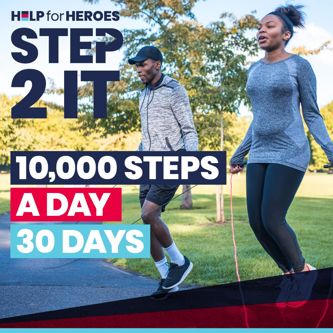 step to it - help for heroes