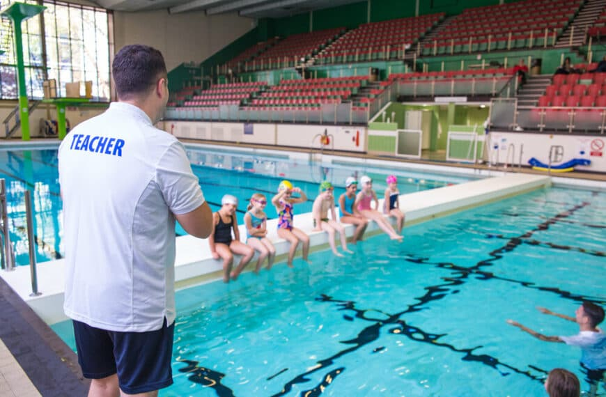 A Lack Of Qualified Swimming Teachers Is Impacting On The Opportunity For UK Youngsters To Learn How To Swim