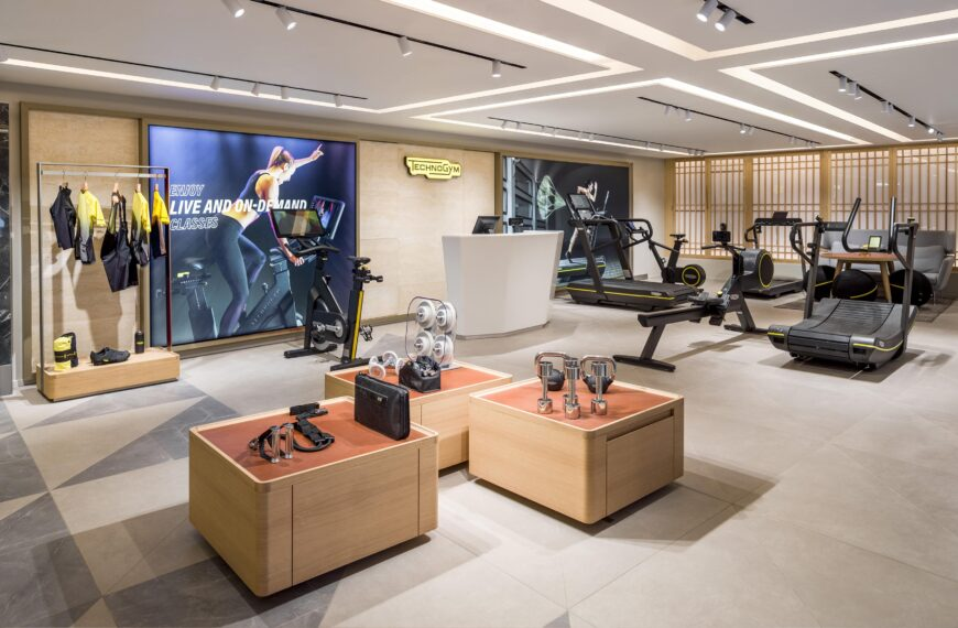 Technogym Unveils Its New Space In Harrods