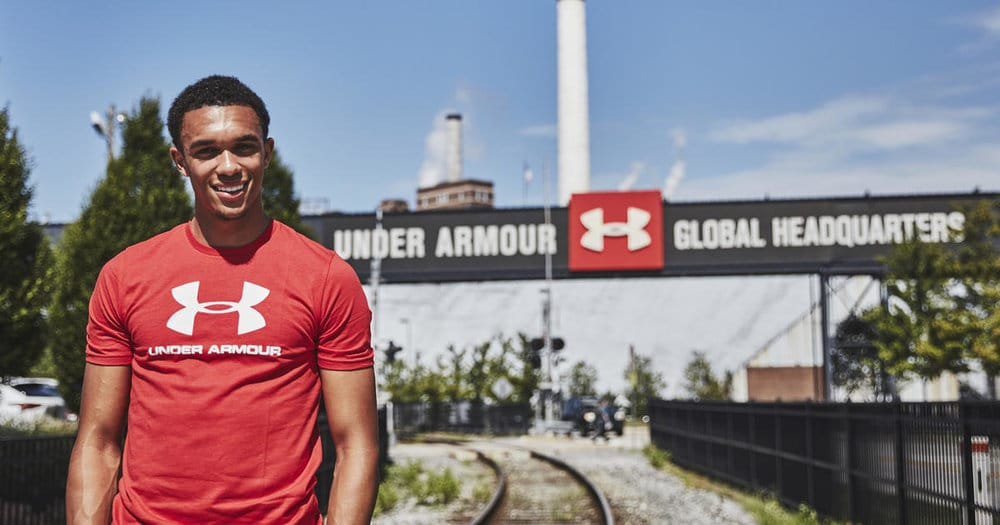 Trent Alexander-Arnold Visits Under Armour Headquarters Ahead of Upcoming PL Season