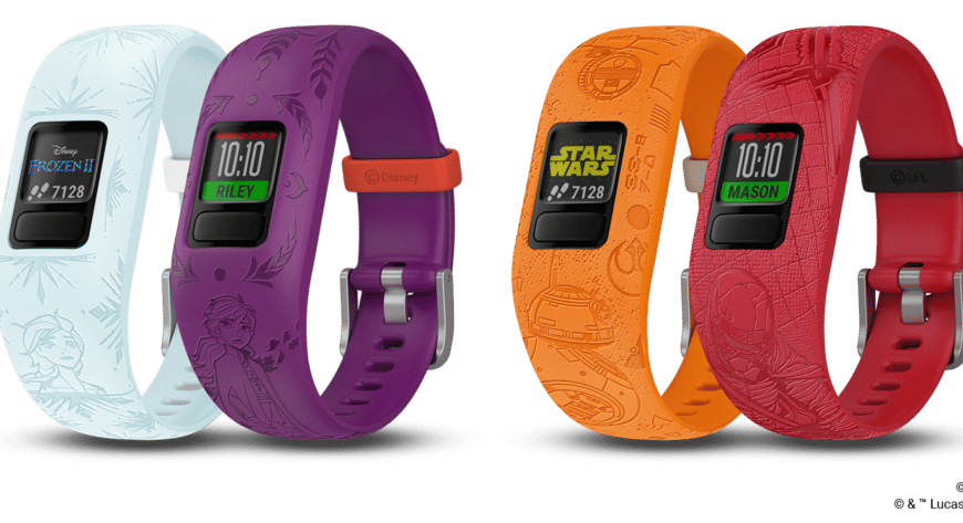 Garmin adds Disney's Frozen 2 and Star Wars to all-star lineup of vívofit jr. 2 fitness trackers