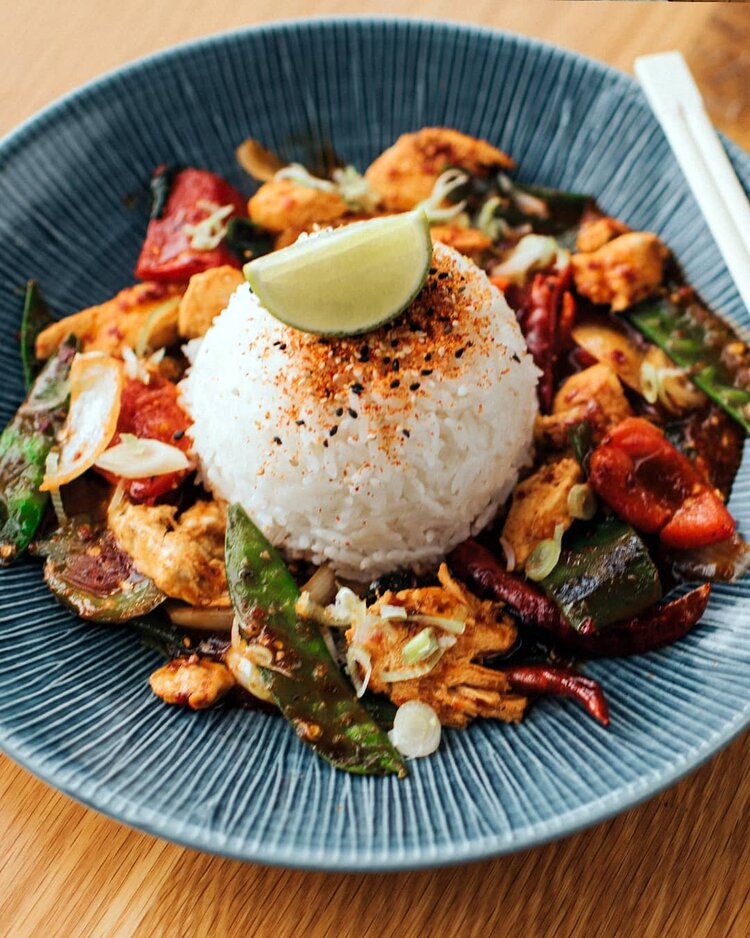 wagamama rice dish