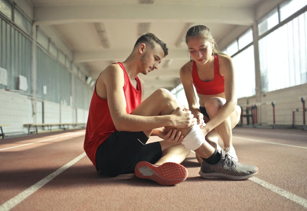 Rise In Exercise Related Injuries As People Workout At Home