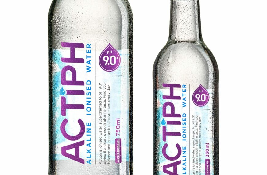 Actiph Water: The UK's First Ever Ionised Alkaline Water Has Arrived