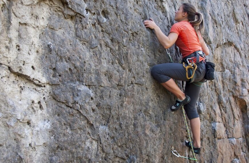 How Climbing Could Be The Perfect Relief From The Stresses Of Working From Home