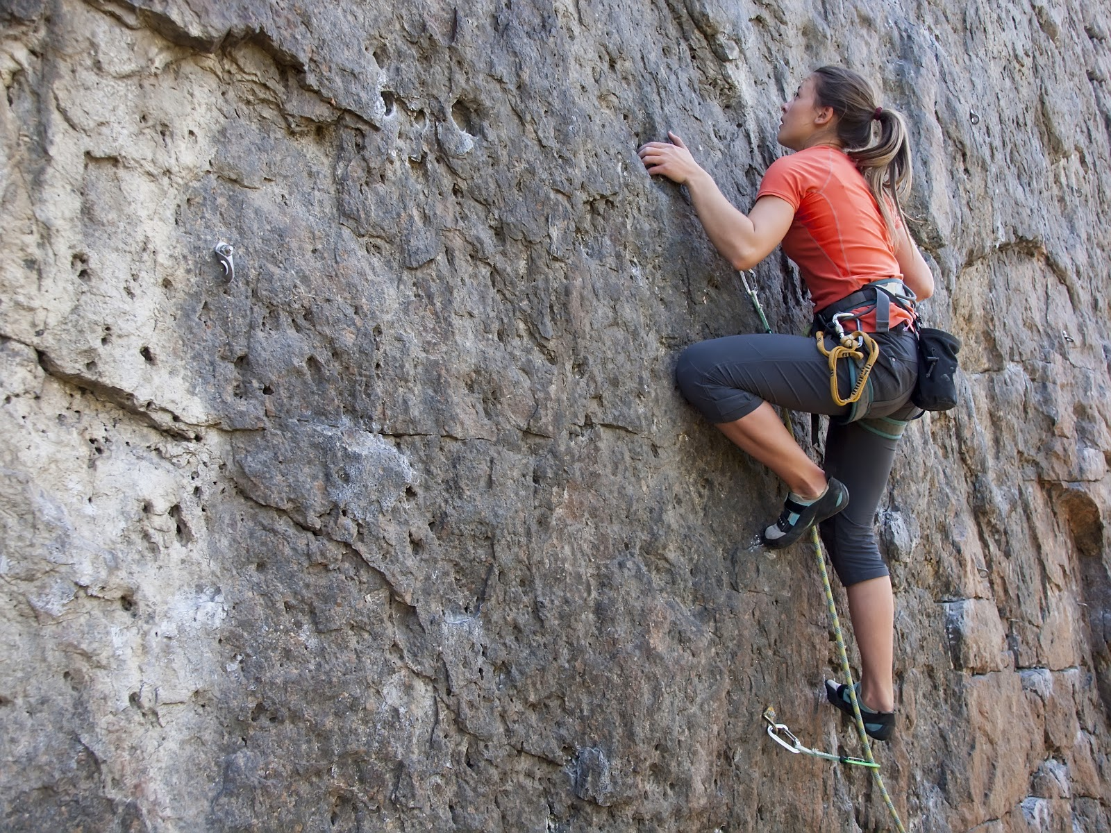 climbing stress relief