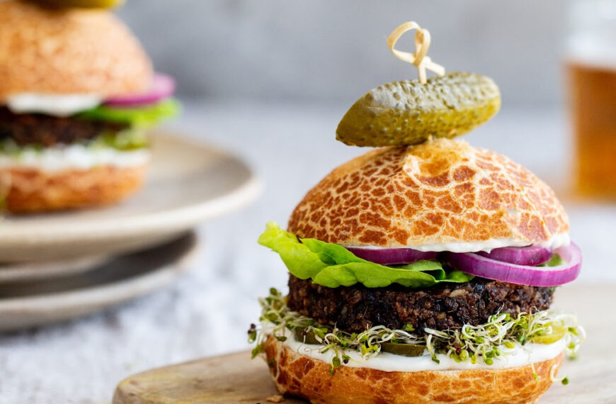 Go Vegan on National Burger Day with a Healthy Alternative