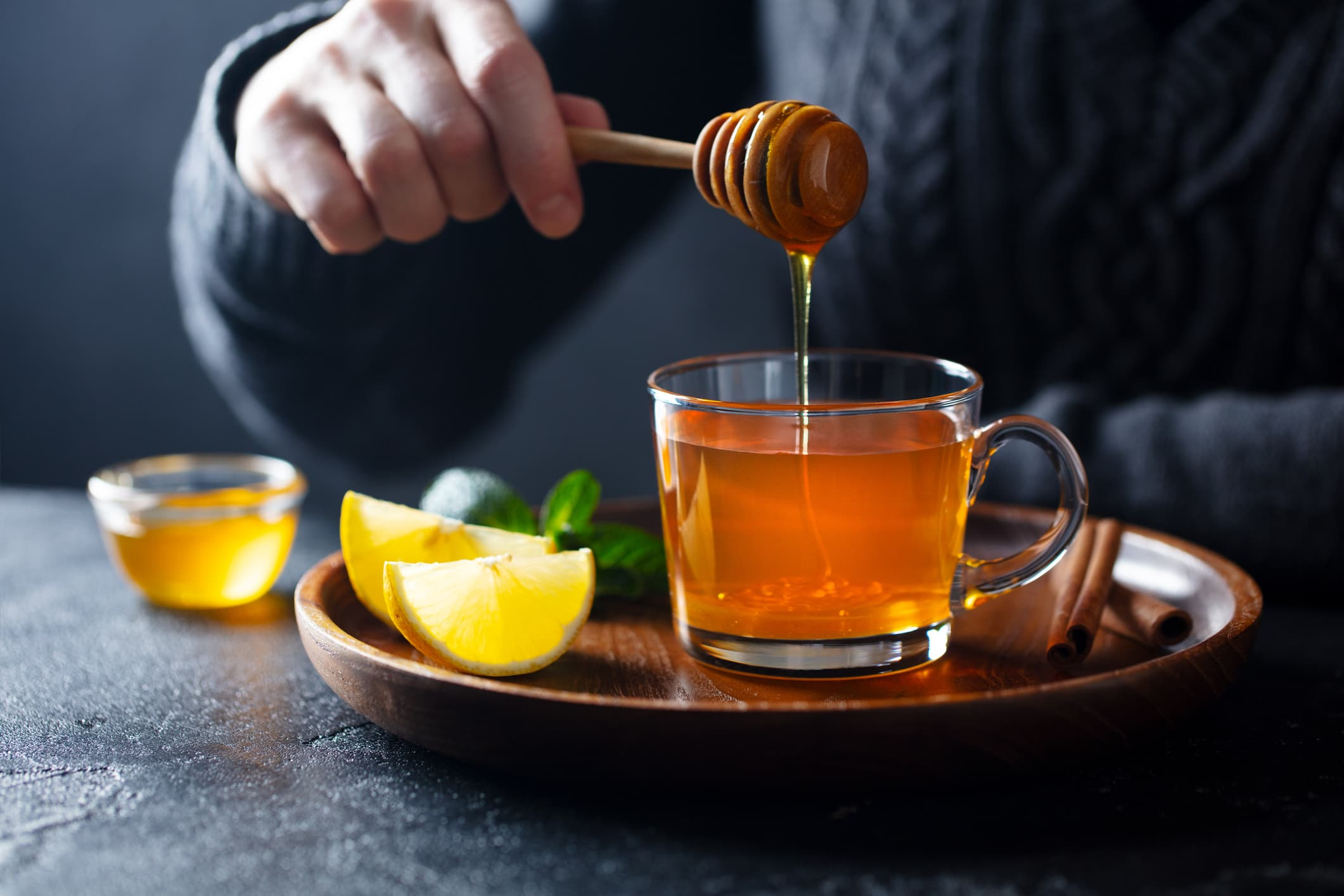 Honey drinks for when you're feeling rotten
