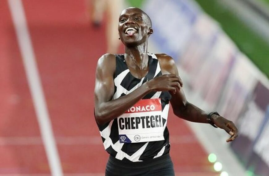 After World 5000m Record, Cheptegei Is On Track To Achieve Global Domination