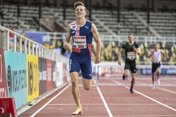 Karsten Warholm Closes In On Young's 400m Hurdles World Record
