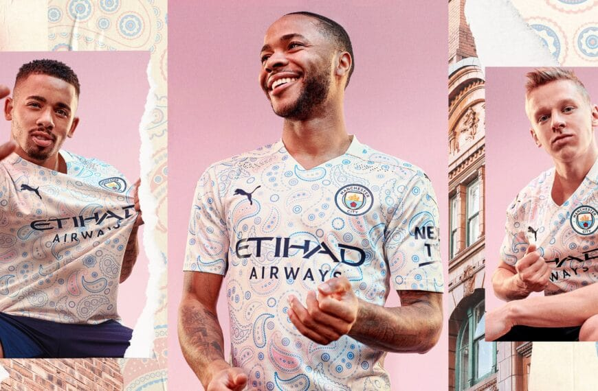 Puma Celebrates Manchester Music And Fashion Culture With City's Paisley Third Kit