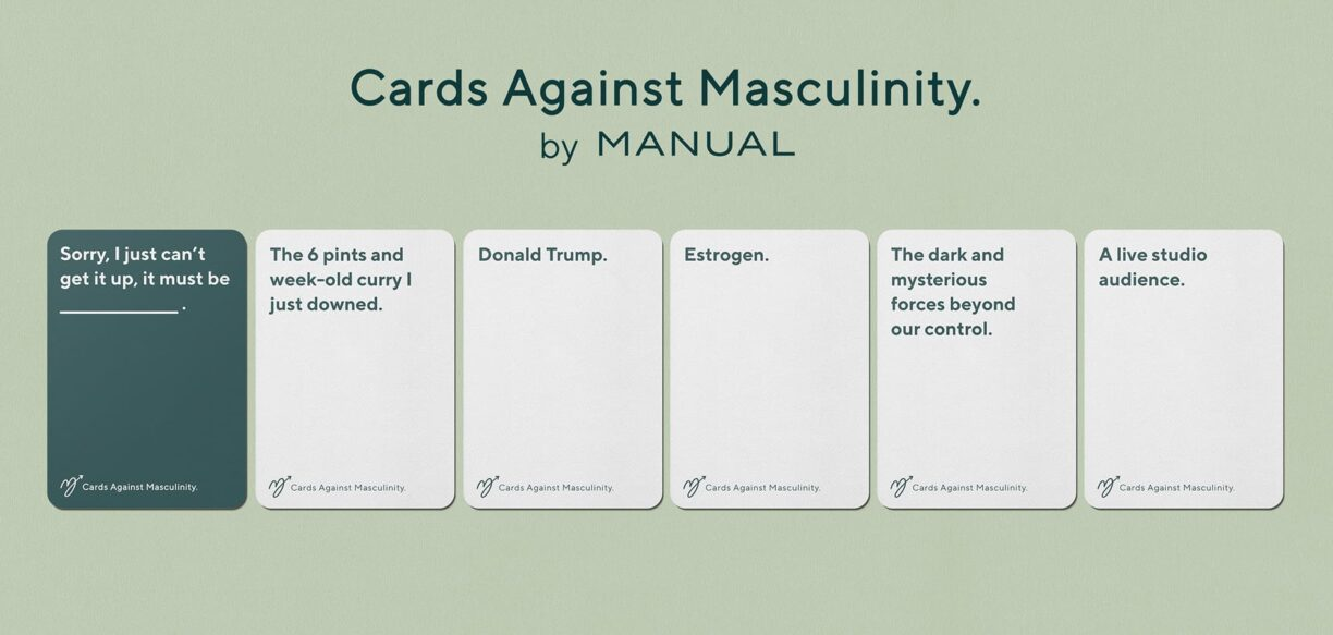 Manual Cards Against Masculinity
