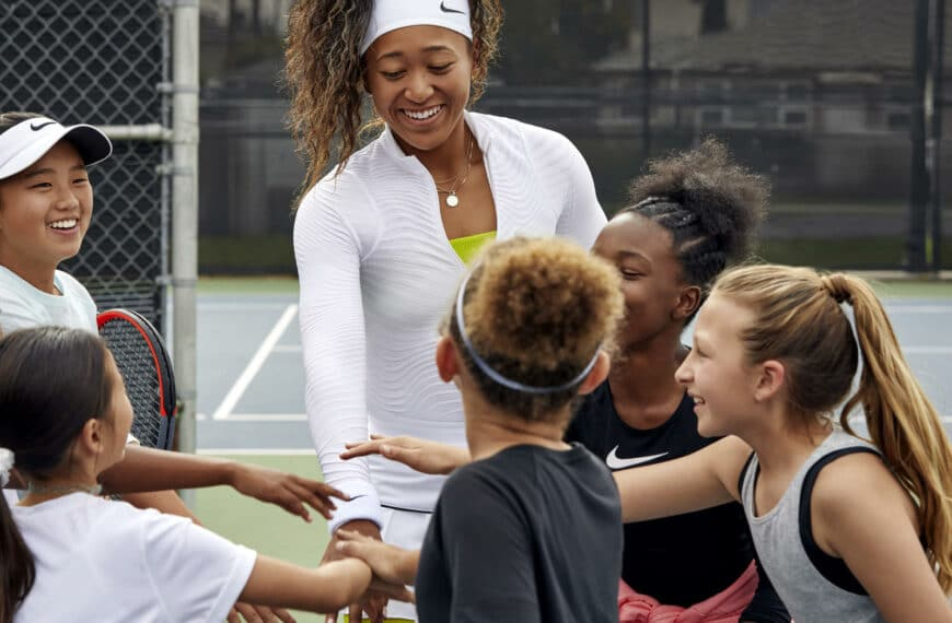Naomi Osaka on Inspiring Future Generations